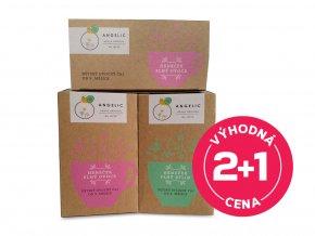 2x Angelic Dětský ovocný čaj 40 g + 1x Angelic Dětský bylinný čaj 30 g za výhodnou cenu!