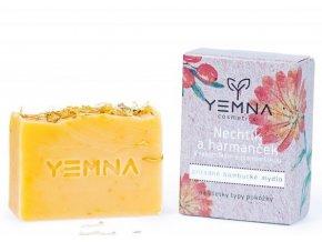 Yemna Přírodní mýdlo Měsíček & heřmánek 100 g