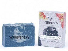uhlie a marocka lava prirodne mydlo