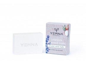 Yemna Solné mýdlo Uhlí a jogurt 100 g