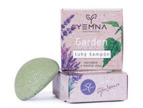 Yemna Tuhý šampon Garden kopřivový s přesličkou 55 g