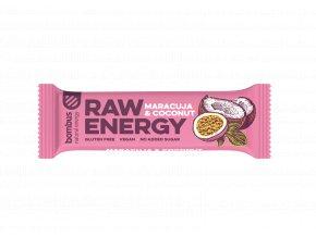 Bombus Raw energy maracuja a kokos 50 g