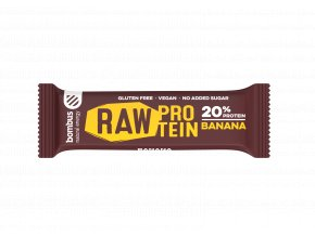 Bombus Raw protein banán 50 g