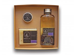 Dárková krabička Angelic Tělové olejové Cuvée Levandule