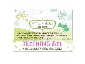 Jack N´ Jill Gel na prořezávající se zoubky 15g