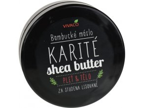 Vivaco Bambucké máslo 200 ml