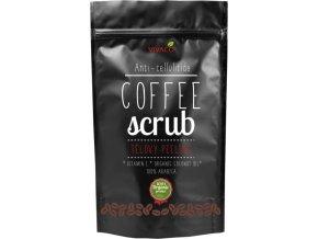Vivaco Coffee scrub Tělový kávový peeling 220 g