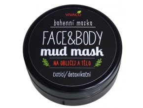 Vivaco Bahenní maska na obličej a tělo 200 ml