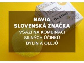 Navia - slovenská značka - vsází na kombinaci silných účinků bylin a olejů