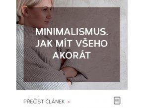 Minimalistická domácnost | Jak mít všeho akorát