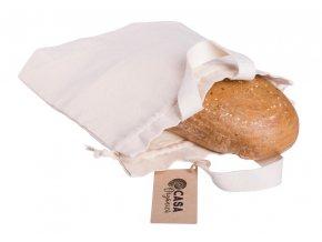 Casa Organica Taška na chleba z biobavlny 1 ks
