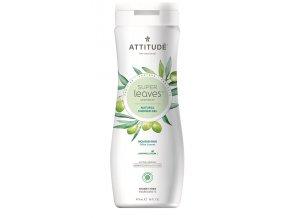Attitude Super leaves Přírodní tělové mýdlo  s detoxikačním účinkem - olivové listy 473 ml