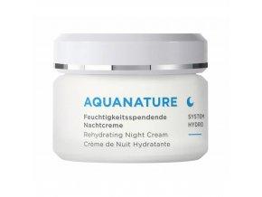 Annemarie Börlind Aquanature system Vyhlazující hydratační noční krém 50ml