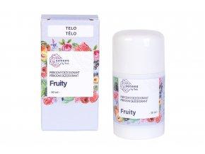 Navia Senses Přírodní tuhý deodorant Fruity 30 ml