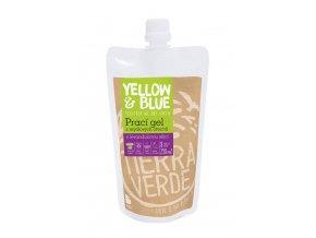 Yellow & Blue Prací gel z mýdlových ořechů s levandulovou silicí 250ml
