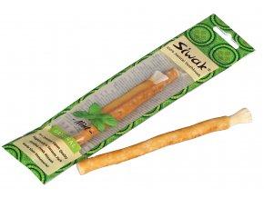 Siwak Přírodní zubní kartáček Miswak máta 1ks