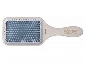 Olivia Garden Eco Hair Hranatý kartáč Paddle