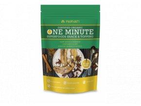 Iswari One minute snack BIO - Konopné semínko a skořice 300g