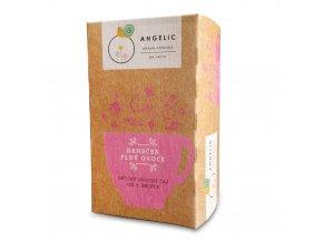 Vánoční nadílka 4+1 ZDARMA Angelic Hrneček plný ovoce dětský ovocný čaj