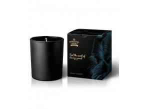 The Greatest Candle Vonná svíčka v černém skle Jasmínový zázrak 170 g