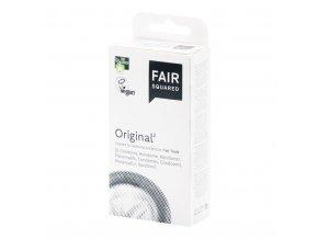 Fair Squared Kondom z přírodního latexu Original 10 ks