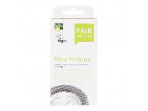 Fair Squared Kondom z přírodního latexu Max Perform 10 ks