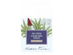 Nobilis Tilia VOREK BB krém s Aloe vera světlý 1 ml