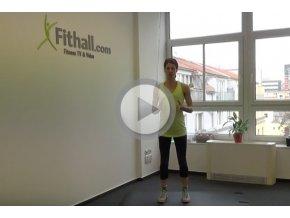 Cvičení proti bolesti hlavy s Marií Korseltovou