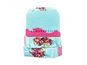Almara Soap Přírodní tuhé mýdlo Wild rose 100 +- 5 g