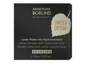 Annemarie Börlind Práškový pudr s kyselinou hyaluronovou bronzing 10 g