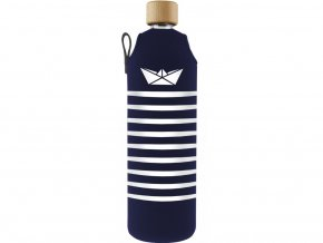 Drinkit Skleněná láhev s neoprénovým obalem Námořník 700 ml