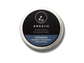 Angelic Odvaha Organický deodorant cedr & santal 50 ml