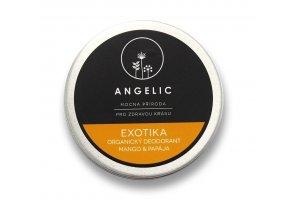 Angelic Exotika Organický deodorant mango & papaja 50 ml