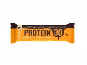 Bombus Tyčinka 30 % protein Peanut & Chocolate 50 g