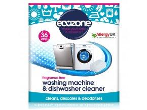 Ecozone Čistič myček a praček 36 ks