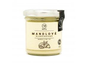 Natu Mandlové pražené máslo blanšírované 140 g