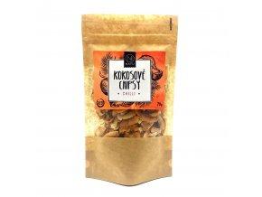 Natu Kokosové chipsy chilli Bio 70 g