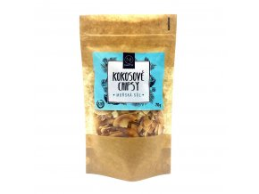 Natu Kokosové chipsy mořská sůl Bio 70 g