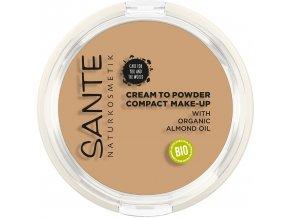 Sante Kompaktní krémový make-up 03 studená hnedá 9 g