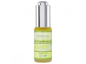 Saloos Pupalkový olej lisovaný za studena Bio 20 ml