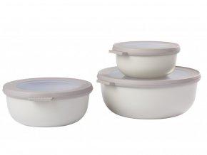 Mepal Set 3 ks misek Cirqula Nordic White 350+750+1250 ml