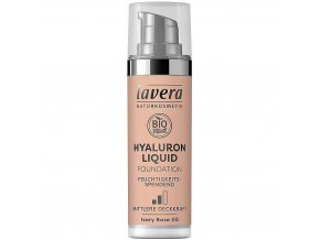 Lavera Tekutý make-up s kyselinou hyaluronovou 00 Ivory Rose 30 ml