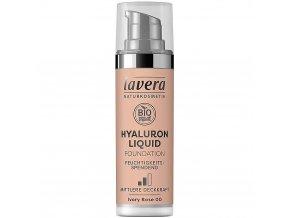 Lavera Tekutý make-up s kyselinou hyaluronovou 00 Ivory Rose 30 ml