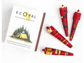 Ecopal Ekologický přírodní podpalovač 15 ks