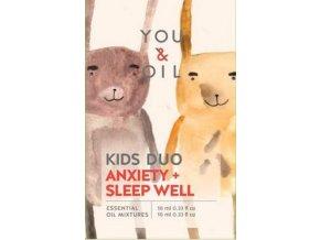 You & Oil Výhodná sada Aromaterapie pro děti Klidný spánek