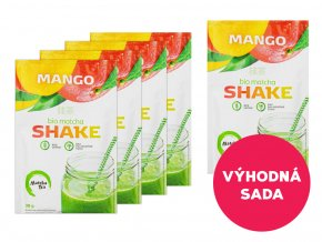 5 x Matcha Shake Mango 30 g za akční cenu!