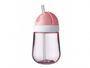 Mepal Dětský trénovací hrnek s brčkem Mio 300 ml Pink