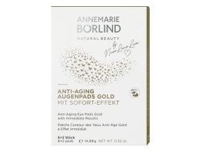Annemarie Börlind Anti-age obklady na oči Gold 6 x 2ks