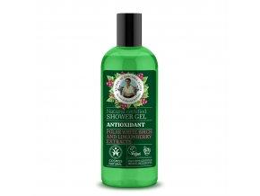 Babička Agafia Přírodní sprchový gel Antioxidant 260 ml