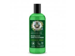 Babička Agafia Přírodní sprchový gel Hydratace 260 ml